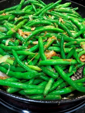 Thanksgiving 2018 green beans