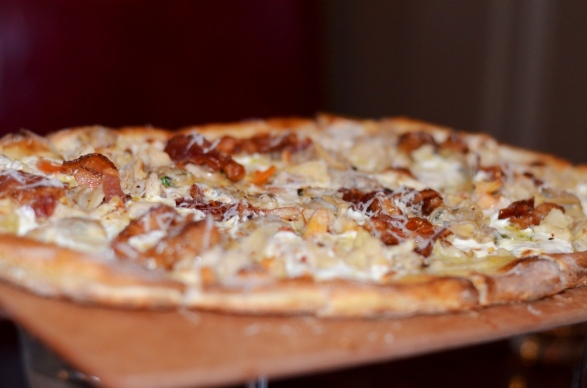 clam and bacon pizza station house port chester