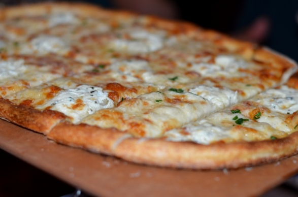 four cheese pizza at station house port chester