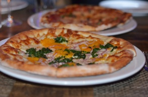 Bar Zepoli Roasted Butternut Squash Pizza