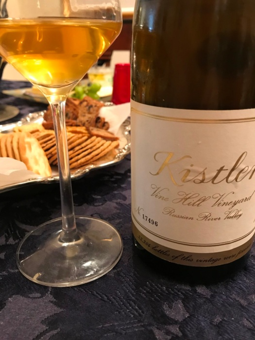 Kistler Chardonnay with Glass