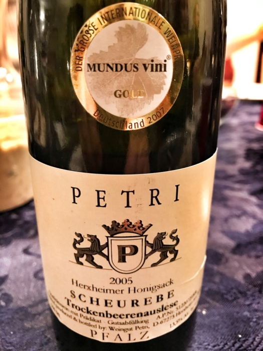 Petri Scheurebe TBA