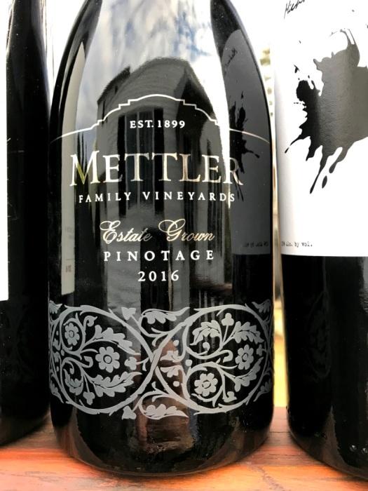 Mettler Family Pinotage Lodi