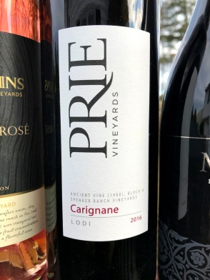 Prie Vineyards Old Vones Carignan Lodi