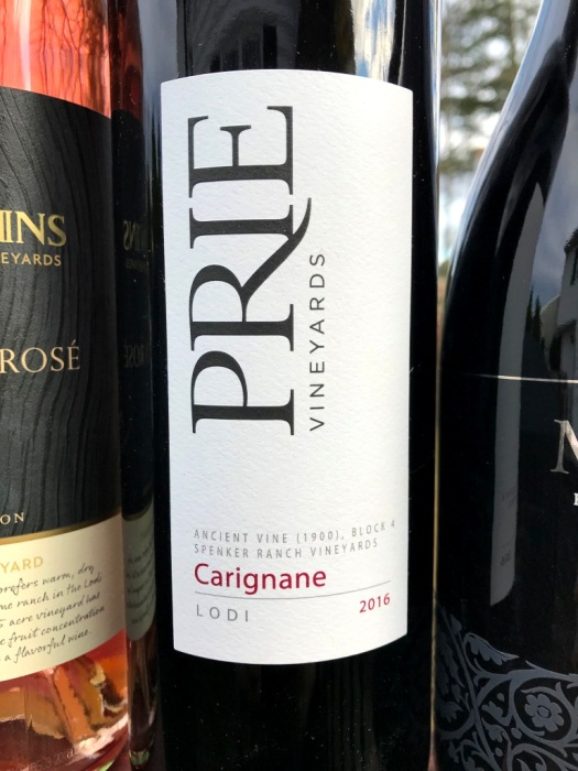 Prie Vineyards Old Vones Carignan Lodi
