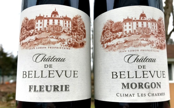 Chateau Bellevue Beaujolais wines