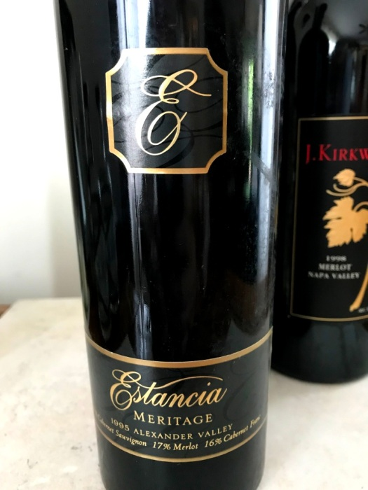 1995 Estancia Meritage Alexander Valley