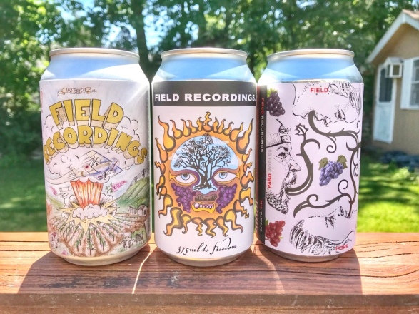 Field Recordings Can Wines May shipment