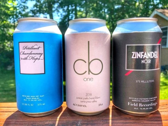Field Recordings Canned wines