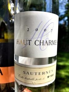 2007 Haut Charmes Sauternes
