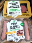 Beyond Meat Burgers and Bratwursts