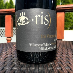 Iris Vineyards Block D Pinot Noir