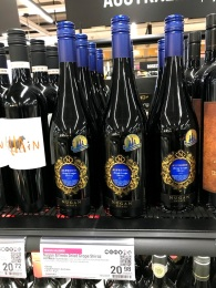 Alfredo Dry Grape Shiraz in the store