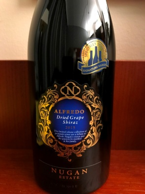 Alfredo Dry Grapes Shiraz