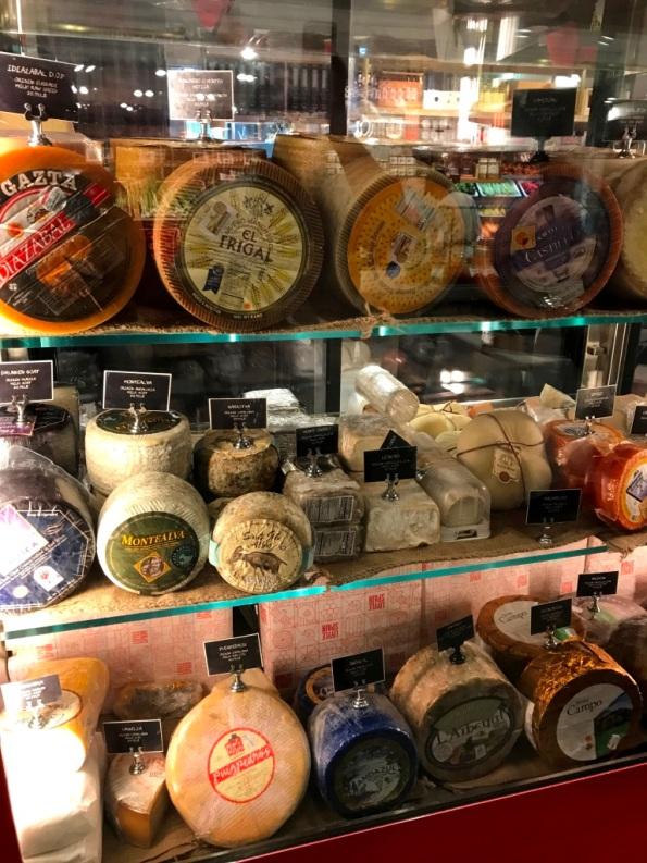 Spanish Cheeses at Mercado Little Spain