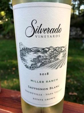Silverado sauvignon Blanc