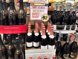 Trader Joe's Sparkling wines