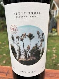 Peju Petit Trois Cabernet Franc