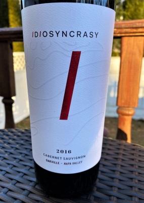 Idiosyncrasy Cabernet Sauvignon (3)
