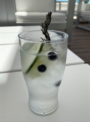 But this Gin and Tonic was just superb