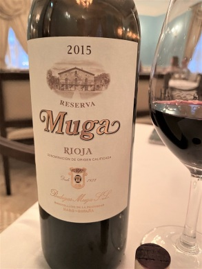 2015 Muga Reserva Rioja - good value at $50