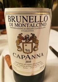 Capanna Brunello Di Montalcino