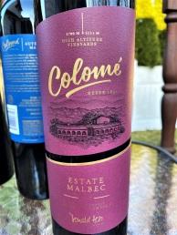 Colome Estate Malbec